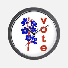 2008 Election Voter Wall Clock