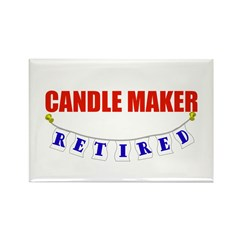 Retired Candle Maker Rectangle Magnet (10 pack)