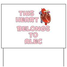 This Heart: Alec (C) Yard Sign