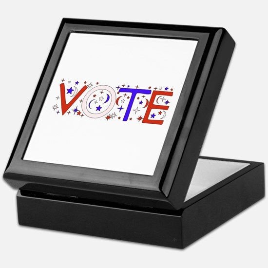 Get Out The Vote 2008 Keepsake Box