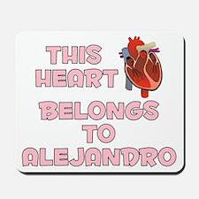 This Heart: Alejandro (C) Mousepad