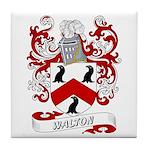Walton Coat of Arms Tile Coaster