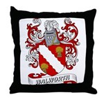 Walworth Coat of Arms Throw Pillow