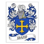 Ward Coat of Arms Small Poster