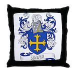 Ward Coat of Arms Throw Pillow
