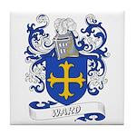 Ward Coat of Arms Tile Coaster
