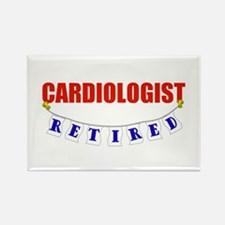 Retired Cardiologist Rectangle Magnet