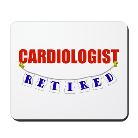 Retired Cardiologist Mousepad