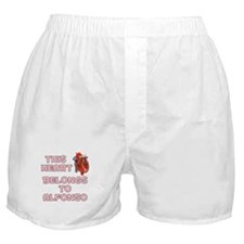 This Heart: Alfonso (C) Boxer Shorts