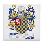 Warren Coat of Arms Tile Coaster