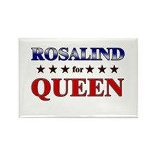 ROSALIND for queen Rectangle Magnet