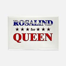 ROSALIND for queen Rectangle Magnet