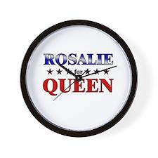 ROSALIE for queen Wall Clock