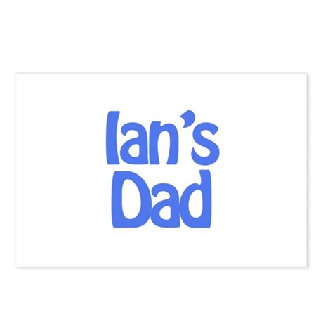 Ian's Dad Postcards (Package of 8)
