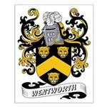 Wentworth Coat of Arms Small Poster