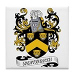 Wentworth Coat of Arms Tile Coaster