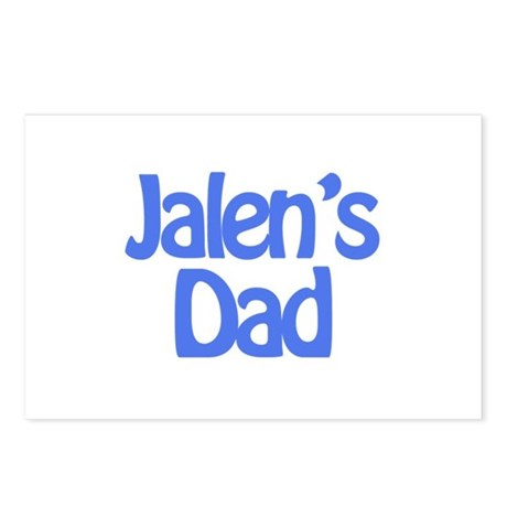 Jalen's Dad Postcards (Package of 8)