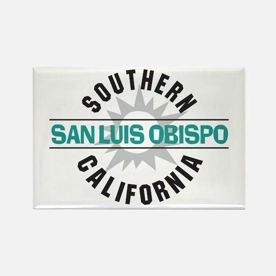 San Luis Obispo CA Rectangle Magnet