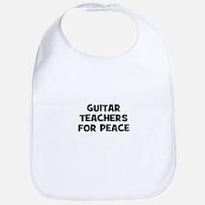 guitar teachers for peace Bib