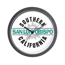 San Luis Obispo CA Wall Clock