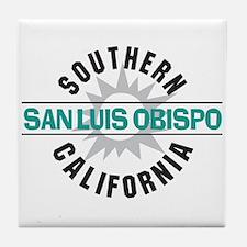 San Luis Obispo CA Tile Coaster