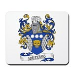 Whiting Coat of Arms Mousepad