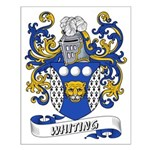 Whiting Coat of Arms Small Poster