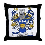 Whiting Coat of Arms Throw Pillow