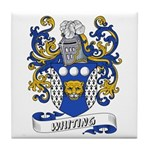 Whiting Coat of Arms Tile Coaster