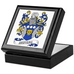 Whiting Coat of Arms Keepsake Box