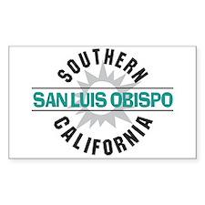 San Luis Obispo CA Decal