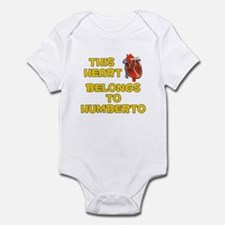 This Heart: Humberto (A) Infant Bodysuit