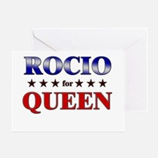 ROCIO for queen Greeting Card