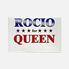 ROCIO for queen Rectangle Magnet