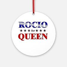ROCIO for queen Ornament (Round)