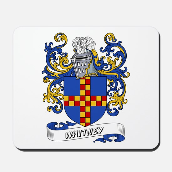 Whitney Coat of Arms Mousepad