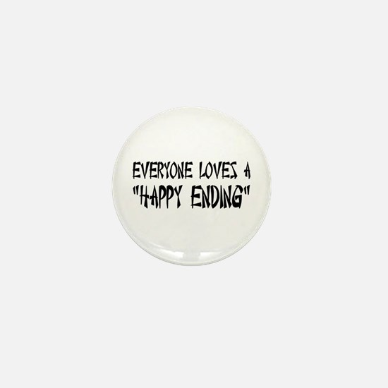 Happy Ending Mini Button