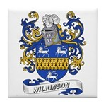 Wilkinson Coat of Arms Tile Coaster