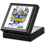 Wilkinson Coat of Arms Keepsake Box