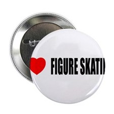 "I Love Figure Skating 2.25"" Button"