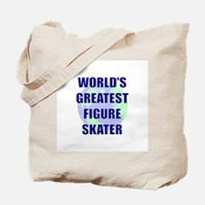 World's Greatest Figure Skate Tote Bag