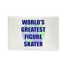 World's Greatest Figure Skate Rectangle Magnet