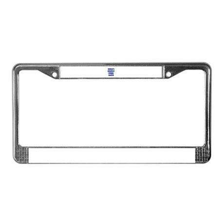 World's Greatest Figure Skate License Plate Frame