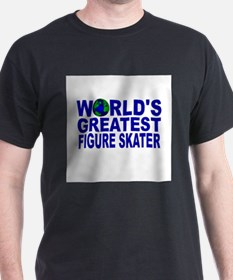 World's Greatest Figure Skate T-Shirt