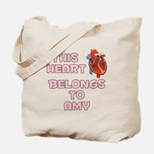This Heart: Amy (C) Tote Bag