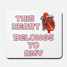 This Heart: Amy (C) Mousepad