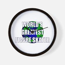 World's Greatest Figure Skate Wall Clock