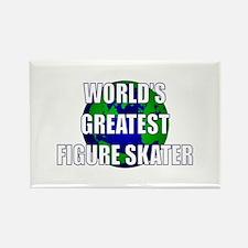World's Greatest Figure Skate Rectangle Magnet