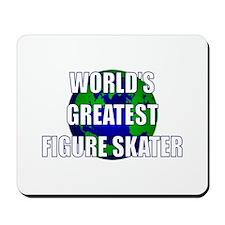 World's Greatest Figure Skate Mousepad
