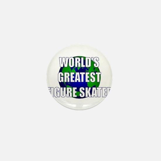 World's Greatest Figure Skate Mini Button